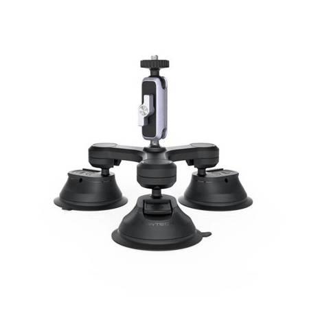 """PGYTECH Three-Arm Suction Mount - mocowanie / przyssawka do kamer sportowych na gwint 1/4"""""""